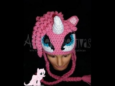 Gorro Tejido My Little Pony Parte 1. Crochet Hat My Little Pony Part 1
