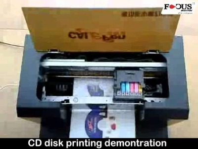 Homemade DIY direct to garment printer DTG printer with Epson R230 by focus digital