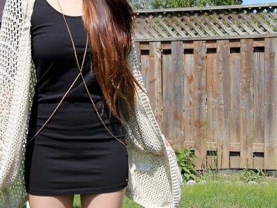 How to | DIY Trendy Cross Body Chain