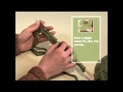 How to Knit a Basketweave Purse [Part 1]