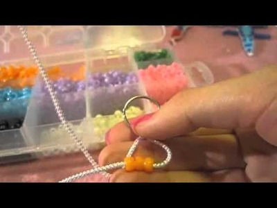 How To Make A Beaded Keychain