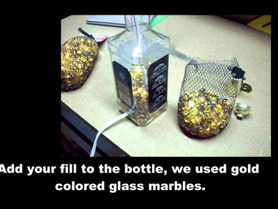How to make a Jack Daniels Bottle Lamp **DIY Jack Daniels Lamp**