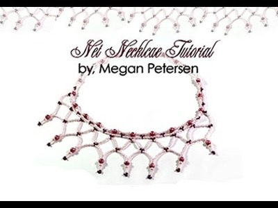 How To Make a Net Beaded Necklace