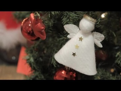 How to make an angel to decorate your Christmas tree : Christmas crafts for the whole family