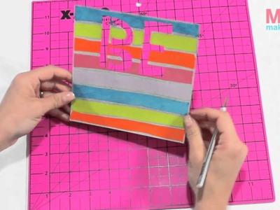How-to: Rainbow Art.Scrapbook