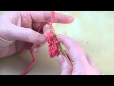 How to: Single Crochet (sc)