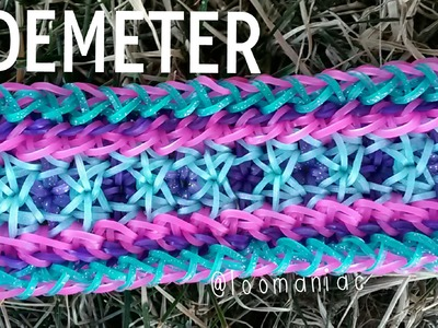 NEW! Demeter Bracelet on the Rainbow Loom