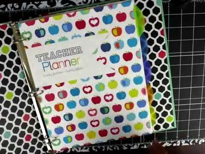 NEW! DIY Teacher Planner Erin Condren Teacher Planner Alternative