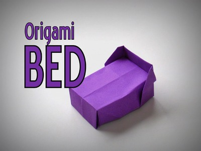 Origami - How to make a BED