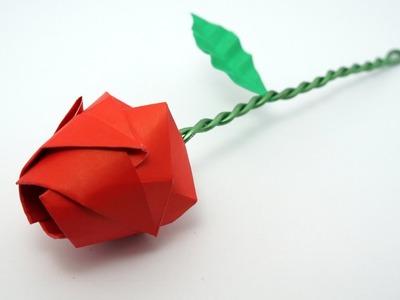 Origami Rose tutorial (Davor Vinko)