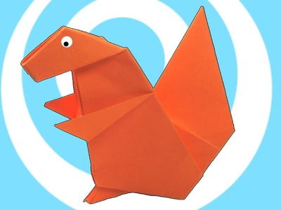 Paper Origami Squirrel Instructions