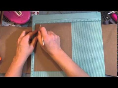 Scrapbook folio style 3 tutorial