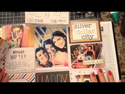 Stampin' Up! Video Tutorial  Scrapbooking with Project Life