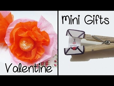 [Sunny DIY] Mini Gifts for Boyfriend & Girlfriend | Lollipop Flower & Clothespin Secret Message