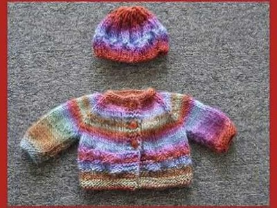 Sweater & Hat Free Knitting Pattern
