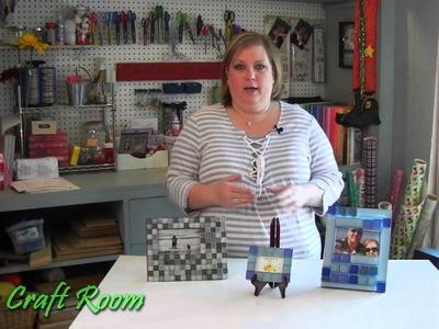 Tile Picture Frames - AJ's Craft Room