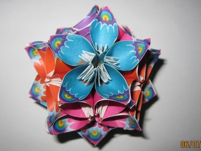 TUTORIAL - How to make Kusudama Flower Ball