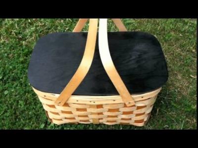 10 DIY Picnic Baskets From Various Materials