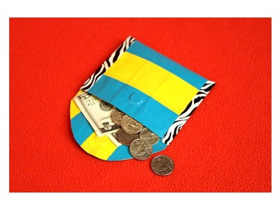 A duct tape coin purse|Sophie's World