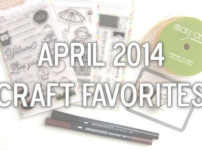 April 2014 Craft Favorites by Pretty Pink Posh