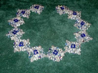 Beading4perfectionists : Victorian Necklace beading tutorial with Swarovski & miyuki beads