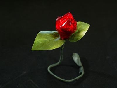 Crafting: Hersey's Kiss Chocolate Rose Bud