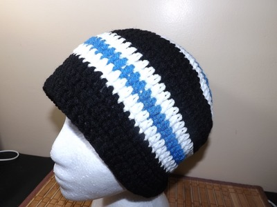Crochet a Mens Hat