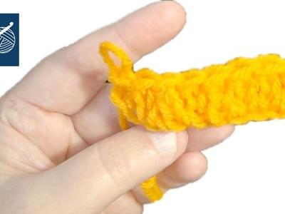 Crochet Chain Stitch Tip - Left Hand