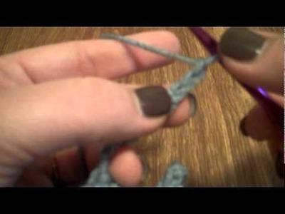 [Crochet] Shamrock Fringe for Shamrock Shawlette