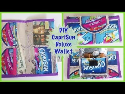 DIY CapriSun Deluxe Wallet