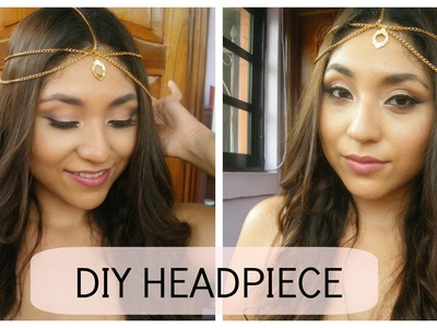 DIY: Chain Head Piece (EASY) | Its halo