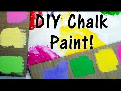 DIY Chalk Paint Using Cheap Supplies!