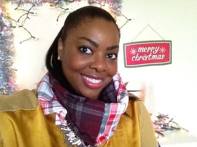 DIY Christmas Gifts: Men's Flannel Shirt Scarf