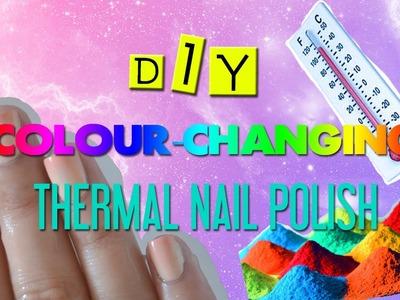 DIY COLOUR-CHANGING NAIL POLISH!