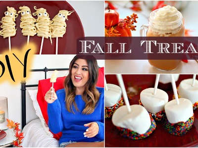 DIY Fall Snacks & Treats: Easy & Cute