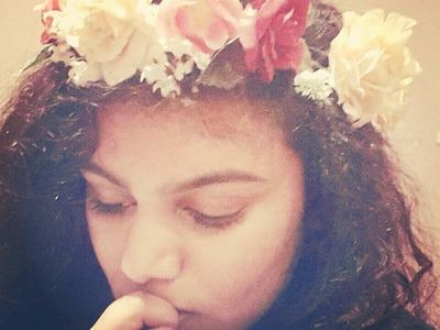 DIY Flower Crown.Garland Tutorial
