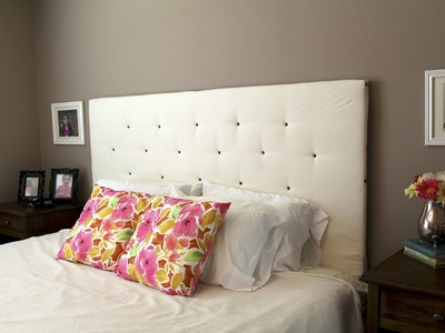 DIY How to make a Headboard