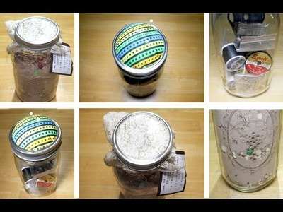DIY Mason Jar Last Minute Holiday Gifts