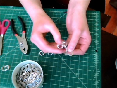 DIY Pop Tab Chainmail Part 2