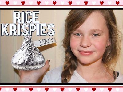 DIY: Rice Krispie Hershey Kiss! DELICIOUS!