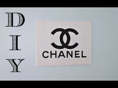 DIY Room Decor | Chanel Wall Canvas
