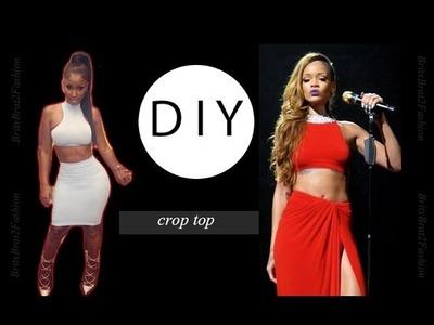 DIY stylish crop top