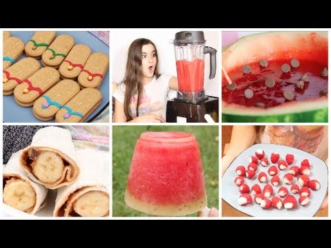 DIY Summer Picnic! - 5 Cute Snacks
