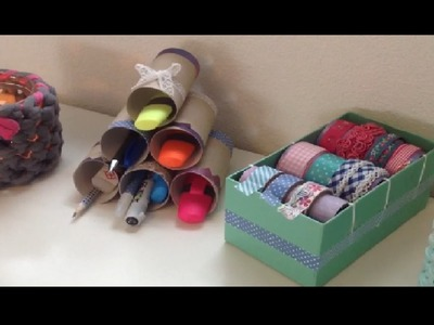 DIY Toilet paper rolls holders