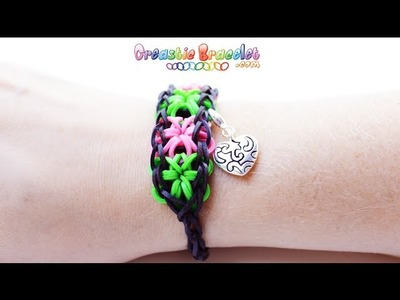 DIY Tutorial - Starburst CREASTIC BRACELET loom