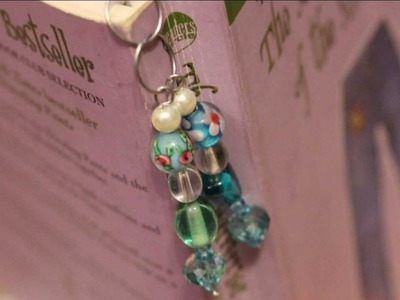 Easy Beaded Bookmark - Whitney Sews