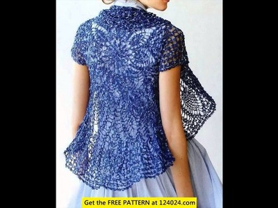 Easy crochet cardigan free patterns