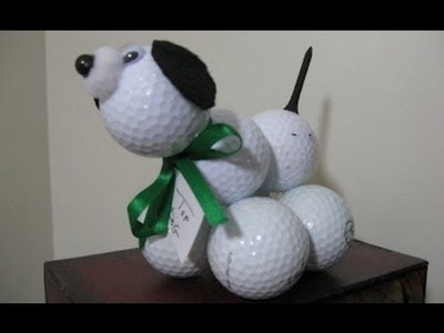 Golf Ball Poodle Craft Easy Fun and Perfect for Father's Day!