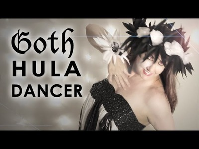 Goth Hula Dancer: DIY Minimalist Halloween Costume Challenge