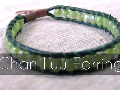 Handmade DIY - Chan luu style earrings